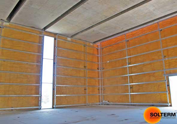 Aislacion termica en paredes exteriores solterm aislamiento t rmico en paredes dobles - Aislante acustico para paredes ...